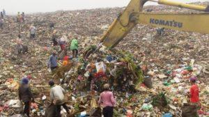 pengelolaan sampah : kondisi TPA Terjun